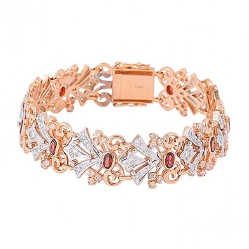 Оригинальные женские золотые браслеты из